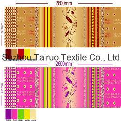 Impresso Bedsheet pigmento de 100% Poli Pongées Tecido de microfibra