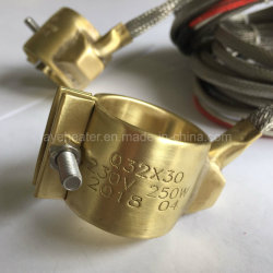 Промышленные реле погружных подогревателей 230V латунные форсунки ленточный нагревательный элемент с помощью термопары