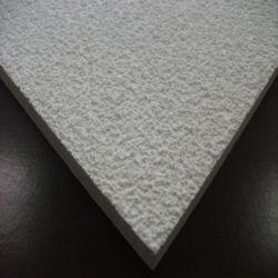 Texture de sable Fire-Proof fibre minérale les dalles de plafond