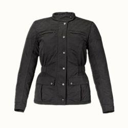 Mesdames ciré noir veste de moto pour la vente