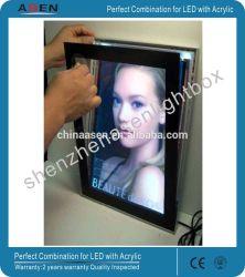 18mm boîte de lumière LED rétroéclairé Boîte à lumière de la publicité magnétique
