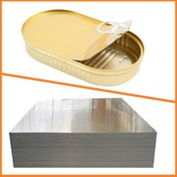 A TFS electrolítico a folha de aço com revestimento cromado para os alimentos podem fazer