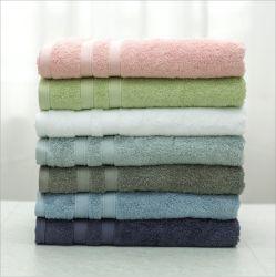 Fabricante de cor sólida personalizados 100% algodão toalha de rosto/Hotel toalha/Toalha de banho/toalha de mão/toalha de praia