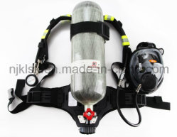 6.8L 9L Carbon Fiber Tankの消火活動型Equipment En137 Breathing ApparatusはBreathing Apparatus Scbaを自己含んでいた