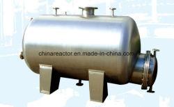 316ステンレス鋼の中国製造業者およびFacotryからの水平の記憶圧力タンク容器の受信機の混合タンク