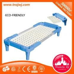 Mobiliário moderno de plástico empilháveis camas para crianças para a escola