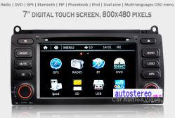 De Speler van de auto MP4 voor Mg7 Rover75 Gezeten GPS van de Navigatie Nav Radio StereoSpeler DVD