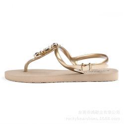 Het Chinese Bedrijf die van Schoenen Hete Verkopende Dame Sandal uitvoeren