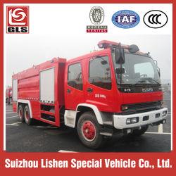 Lutte contre les incendies de mousse de véhicule, châssis de camion Chongqin Isuzu 6X4