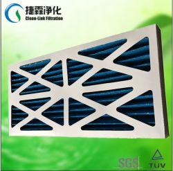 Painel de HVAC pré-filtro filtro, pré-filtro Pleat Cardborad Papel