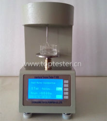 ASTM D971 백금 반지 자동 공용영역 그리고 표면 장력 미터