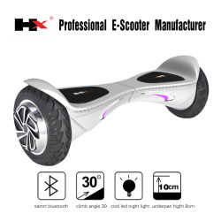 Zwei Wheeler Electric Scooter, Dual Wheel Personal Electric Smart mit Bluetooth Speaker