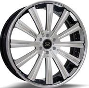 """#Sfw1002 18"""" 19"""" et 20"""" 1PC Hyper Silver roues forgées"""