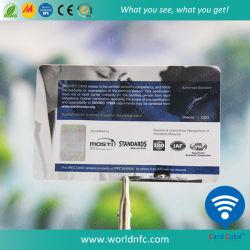 최신 판매 UHF PVC/Plastic U 부호 G2xm Contactless 지능적인 RFID 카드