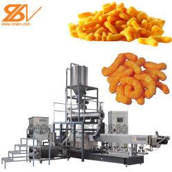 Cuit au four fromage croustillant Cheetos boucles Ligne de production de maïs