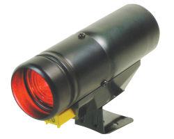 PRO rpm de la luz de cambio de la Plata caso LED rojo (7011SB)