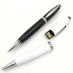 Bolígrafo metálico con pantalla táctil de las unidades USB USB Pen lápices de memoria.