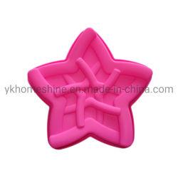 Decoração de bolo de silicone em forma de estrela