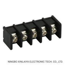 Tipo connettori di Streight del blocchetto terminali della barriera di colore del nero 8.25mm