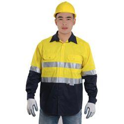 محترفة صاحب مصنع إمداد تموين أمان عامل لباس رجال عال رؤية [ووركور]