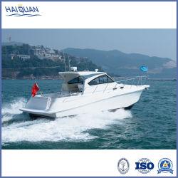 Vitesse d'aluminium de luxe blanc Bateau pour la pêche de loisirs touristiques