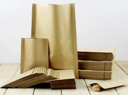 El papel de estraza para almacenamiento de alimentos bolsas para dulces Cookies Tarta de Chocolate Panadería Embalaje de regalo
