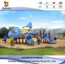 Norme TUV GS intérieur pour enfants Aircarft Aire de jeux de diapositives Amusement Park jouet en plastique de l'eau jeux du parc d'enfants de l'équipement de terrain de jeux de plein air
