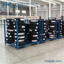 Veículo automóvel comercial sobressalente de aço móveis Rack dos Pneus sistema de armazenamento