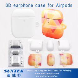 A sublimação em branco 3D Suporte para auriculares para Airpods
