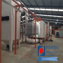 河北ハナの粉のコーティングラインか装置またはシステム