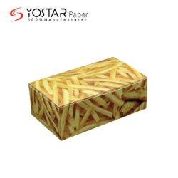 修飾された健全で白いボール紙は印刷を用いる食品包装の紙箱を揚げる