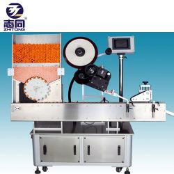 La fiala orizzontale semiautomatica dei doppi lati di alta qualità può etichettatrice