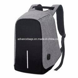 2020 Großverkauf-Form kundenspezifischer diebstahlsicherer USB-aufladender Portlaptop-Rucksack-Computer iPad Geschäfts-Beutel