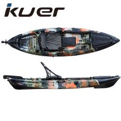Populaire bon marché en plastique s'asseoir sur le dessus de la Pêche Kayak Rotomolded