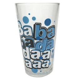Des Trommel-Glasrotwein kundenspezifisches Wasser-Milch-Saft-Bier-trinkender Glas-Cup-Liter-16oz