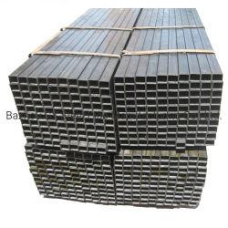 Tubo e tubo quadrati galvanizzati sezioni strutturali del acciaio al carbonio