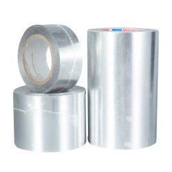 De koude Weer oplosbaar-Gebaseerde Acryl Pressure-Sensitive Zelfklevende Band van de Aluminiumfolie