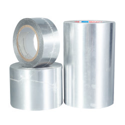 Par temps froid Pressure-Sensitive Solvent-Based acrylique Ruban adhésif en aluminium