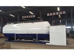 Autocisterna standard del gas del propano del serbatoio di ASME 45cbm GPL 23tons con la scala di riempimento per la cottura della stazione di pattino del gas