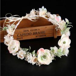 Fête de mariage accessoire de mode décoration fleur de la fiancée de Bande de Cheveux
