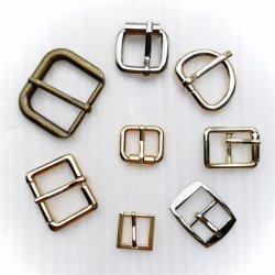 MetallAolly Gürtelschnalle justierbar für Mann/Womems der Dame Customize Leather/Beutel-Faltenbildung