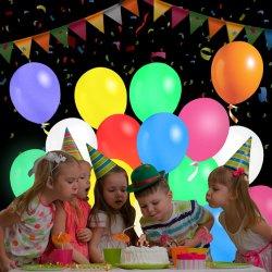 Luz de flash LED de la fiesta de cumpleaños Bodas globo