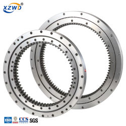 Personalizado de la niveladora de anillo de rotación de la plataforma giratoria cojinete para la máquina de ingeniería