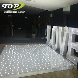 De LEIDENE van het Decor van het huwelijk Door sterren verlicht Lichten Dance Floor van de Fonkeling voor Huur Doubai