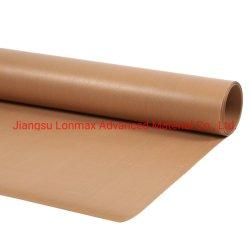 Recouvert de Téflon résistant à la chaleur tissu en fibre de verre Matériau en PTFE
