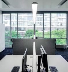 2019 nouveau style de décoration moderne Pendentif LED lumière linéaire en aluminium