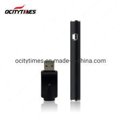 Schwarze 320mAh 510 nachladbare Vape Feder-Batterie mit USB-Aufladeeinheit