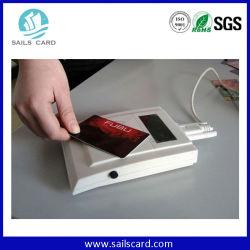 PVC multifunción LF, HF UHF RFID de frecuencia dual Smart Card