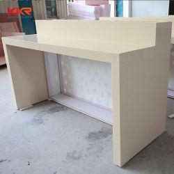 Haut de la hauteur de table à café bar comptoir de réception de table Table à manger de meubles modernes d'étagère d'affichage