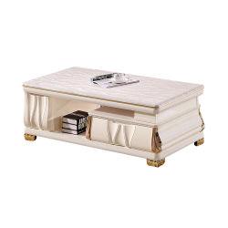 거실 가구 형식 대중적인 대리석 최고 금 목제 옆 작은 테이블